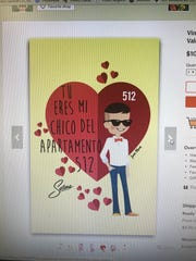 An Etsy shop from Los Angeles features Selena-inspired Valentine's Day cards.