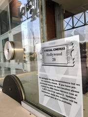 Hollywood 20 movie theater off Naples Boulevard in North Naples is targeted to reopen in late spring after being closed since Hurricane Irma.