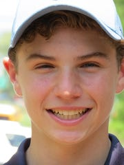 Dwight-Englewood sophomore Jesse Goodman was medalist at the North Non-Public B golf sectional at Francis Byrne Golf Course in West Orange on Tuesday, May 15.