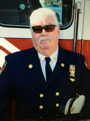 Michael Healy, former fire chief in Central Nyack.