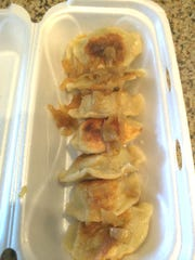 Eva's Polish Kitchen's pierogis with fried onion in