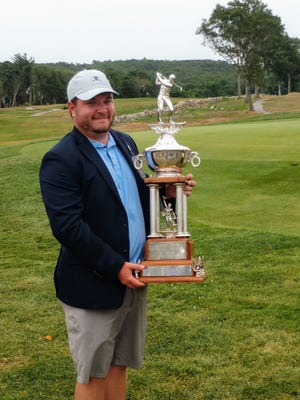 Nick Maccario won Tuesday's 56th Hornblower Memorial Tournament at the Plymouth Country Club.