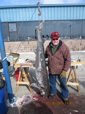 Ralph Nett registered the largest fish harvested on Lake Winnebago on Wednesday, was a 121-pound, 70.5-inch female at Waverly Beach.