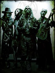 Rob Zombie and his band