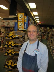 Amazing Toys owner Dave Campbell says attentive service and neat merchandise helps customers shop while deterring shoplifting.