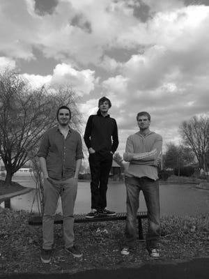 Three-fourths of Ram (from left): Ryan Conti, Jon Follis and Jacob Conti.