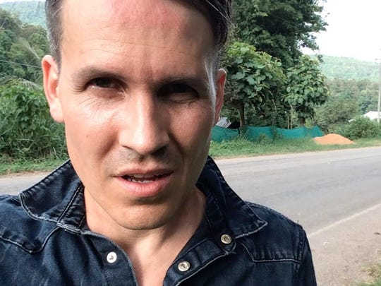 David Zach of Christian band Remedy Drive takes a selfie