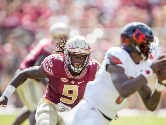 Josh Sweat, defensive lineman, Florida State