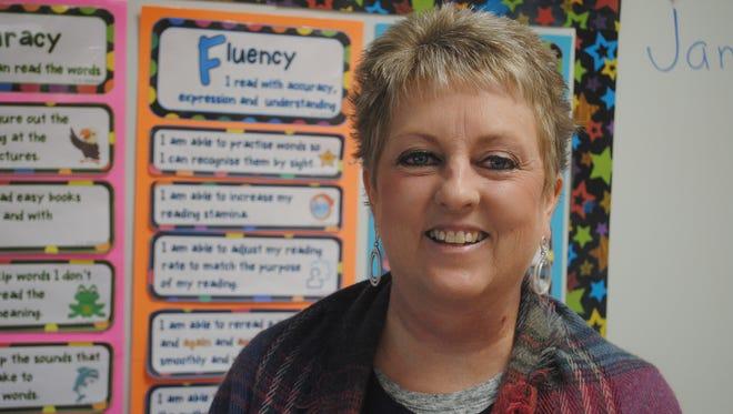 Cheri Adair, a teacher at Merkel Elementary School, will receive the award on March 25.
