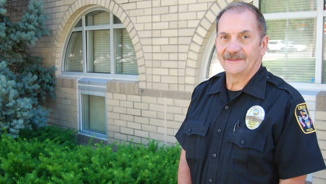 Emmett Stone is the new chief of the Cheviot Police Department. He has served as a Cheviot police officer for nearly two decades.