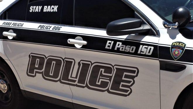 El Paso Independent School District police car.