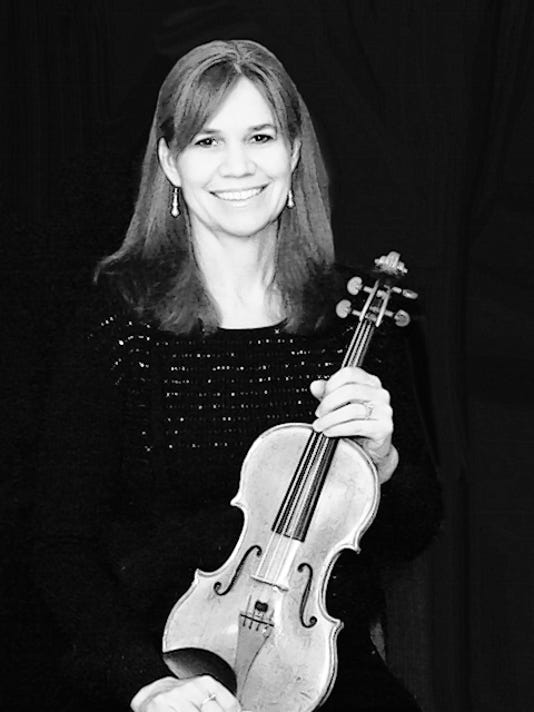 Violinist Julanie Lee.