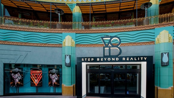 The Void, recently opened in Downtown Disney, offers