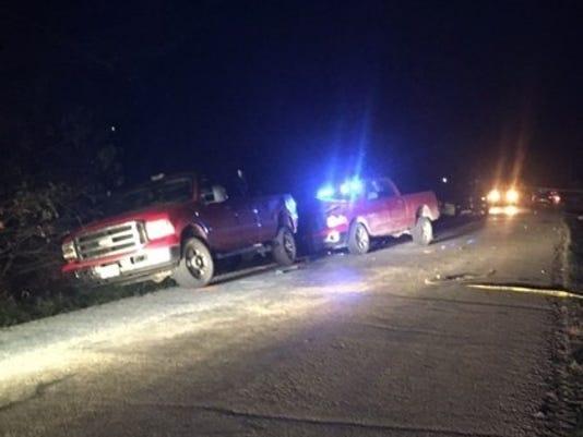 Daviess County crash scene