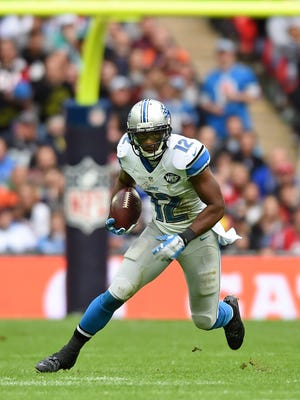 Lions wide receiver Jeremy Ross.