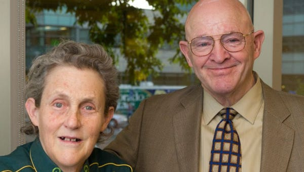 CSU professors Temple Grandin and Gary Smith have each committed $250,000 to support the second phase of construction and programs within the Department of Animal Sciences.