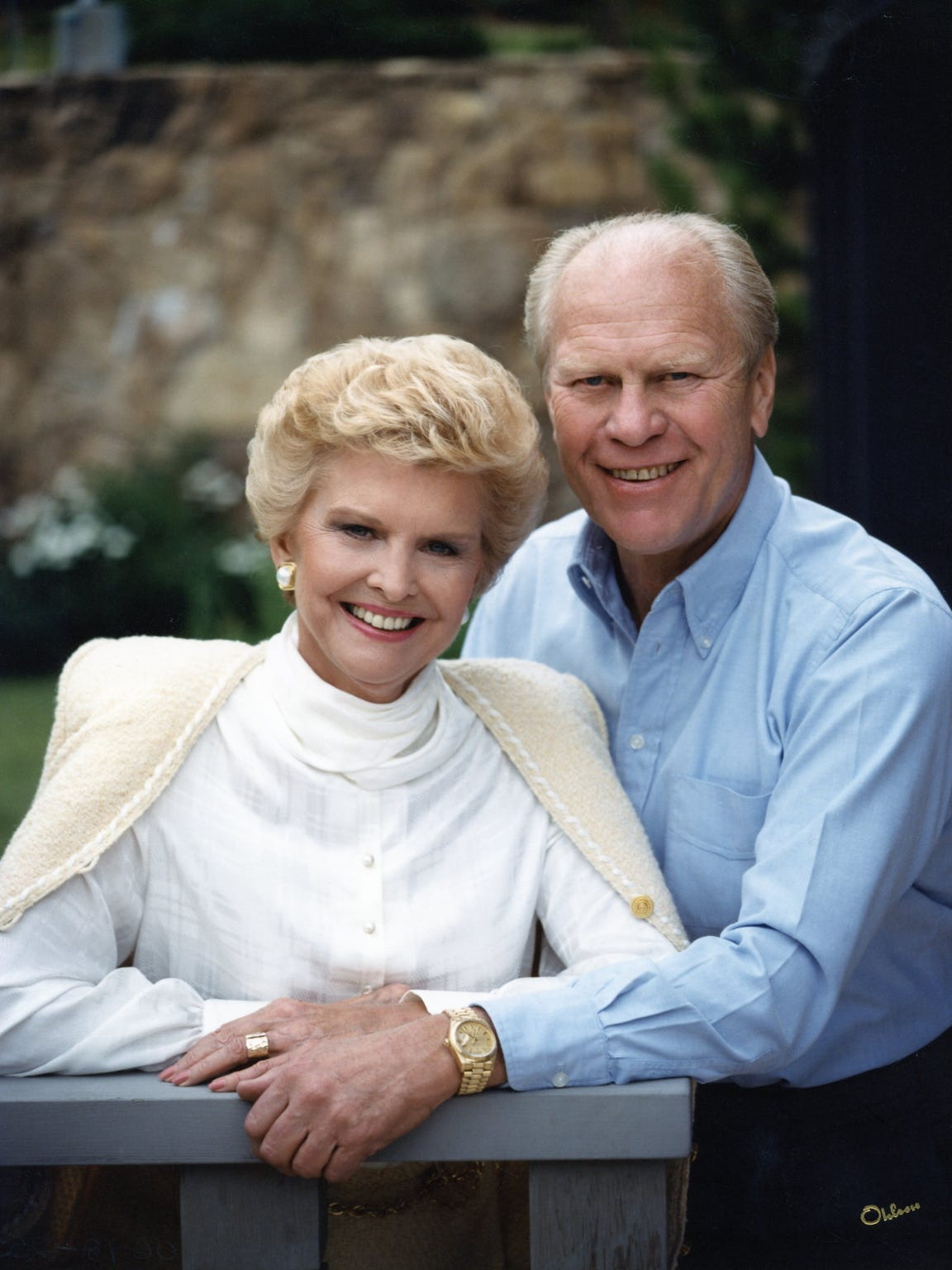 President and Mrs. Gerald Ford.