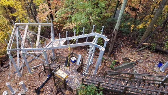 The attraction at Chimney Rock State Park will close