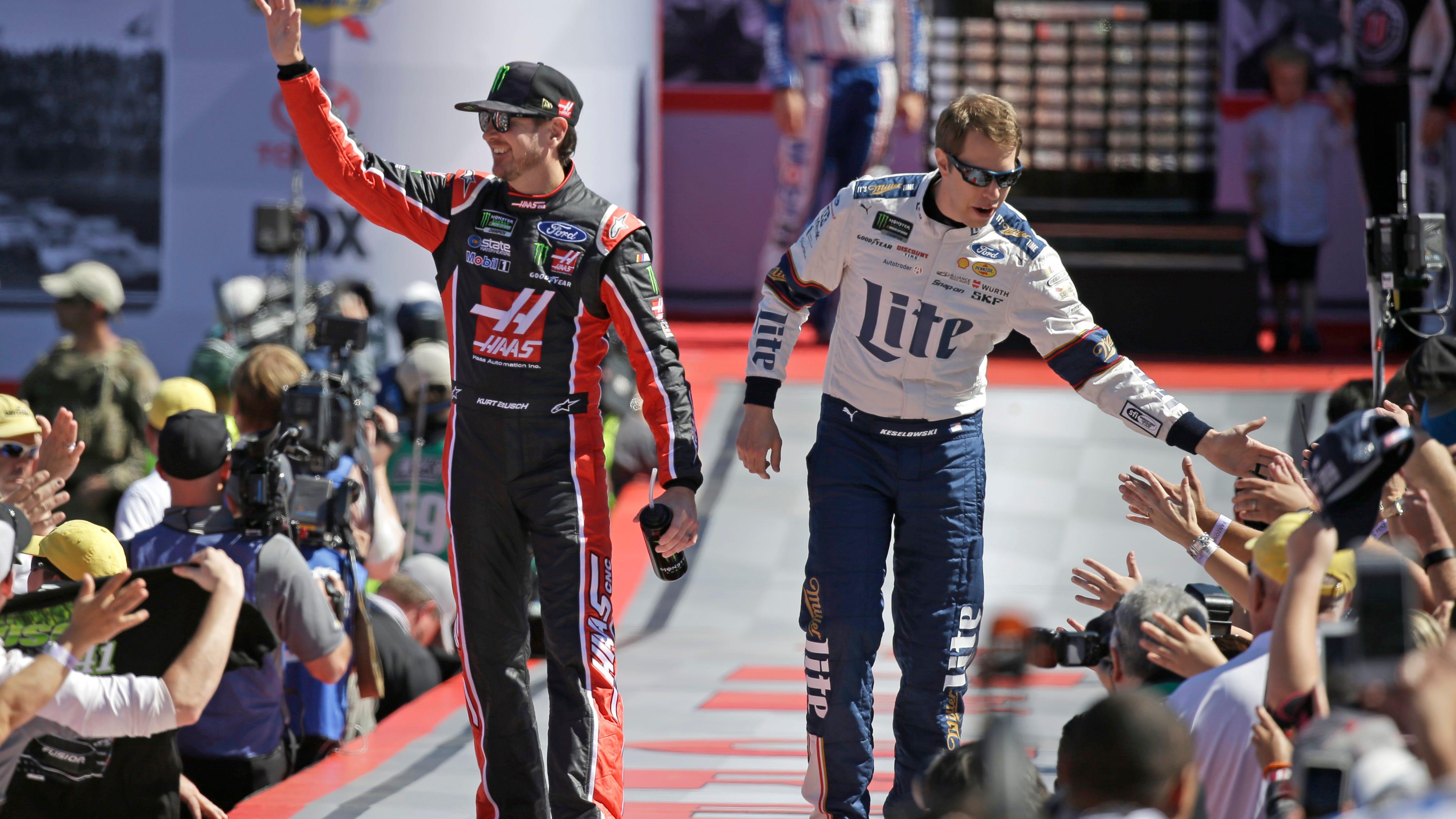 Autographed Kurt Busch Daytona 500 Champion Ryan Newman teammates Chase Hat Latest Technology