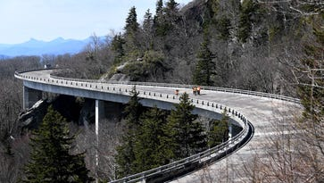 Linn Cove Viaduct rehabilitation project