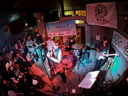 The Apocalypse Blues Revue played their debut show in 2014 at The Cigar Bar. Now they're returning for Sunday's block party.