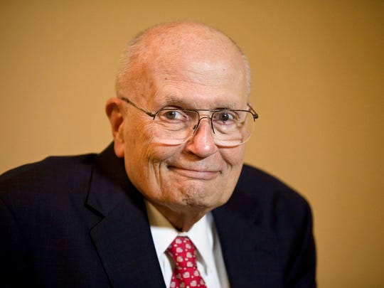 Former staffers of U.S. Rep. John Dingell are serving as pallbearers at his funeral Mass in Dearborn on Tuesday.