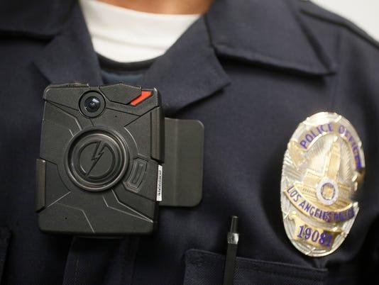 AP POLICE BODY CAMERAS A FILE USA CA