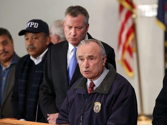 New York City Police Commissioner William Bratton is