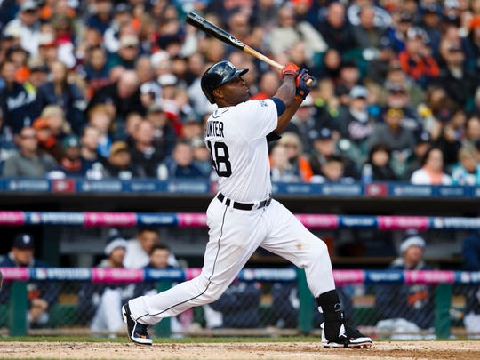Torii Hunter spent the first 11 seasons of his career