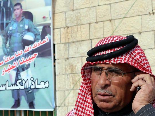 Safi Yousef al-Kaseasbeh, the father of the Jordanian
