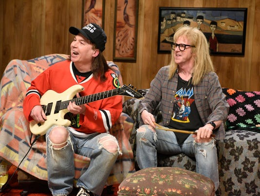 Saturday Night Live 40th Anniversary Special - Mike Myers Dana Carvey