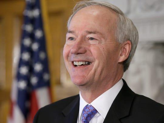 Arkansas Gov. Asa Hutchinson.