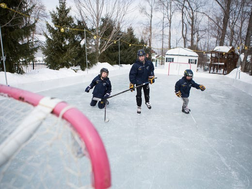 Do It Backyard Rinks Provide Outdoor Fun