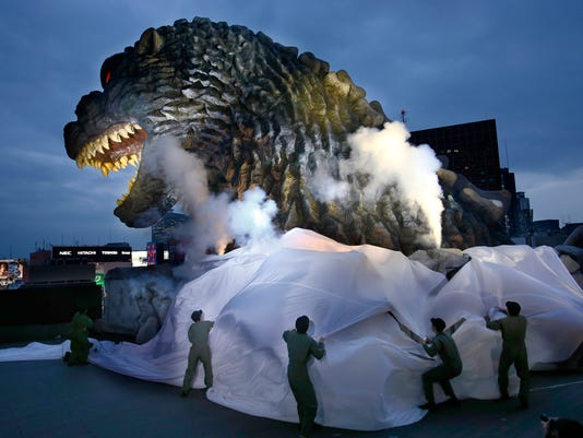 APTOPIX Japan Godzilla