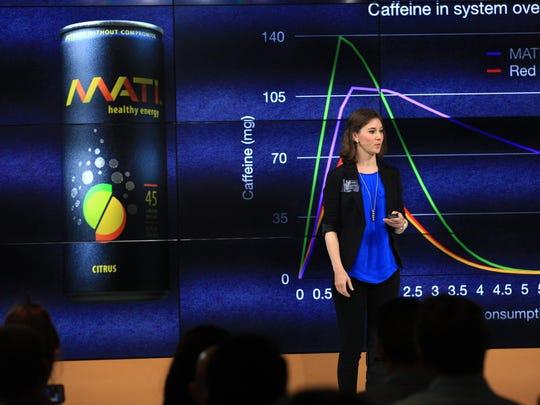 Tatiana Birgisson, founder of Mati Energy drink, explains