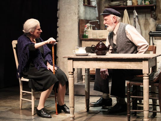 "Pictured are Dale Hodges (left) and Joneal Joplin in ""Outside Mullingar."""