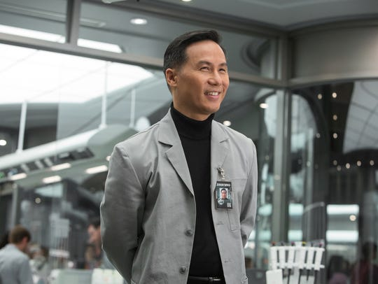 Geneticist Henry Wu (BD Wong) escaped with a bunch