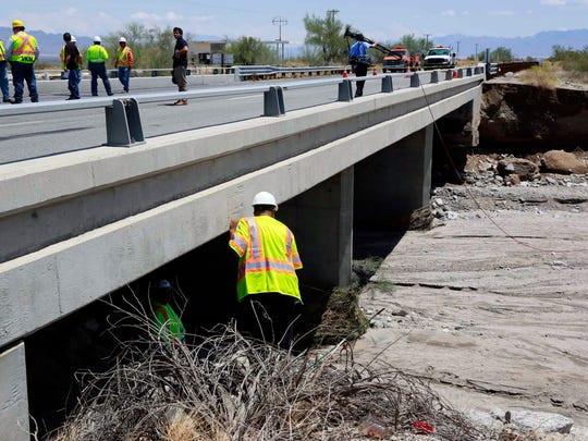 Inspectors for the California Department of Transportation