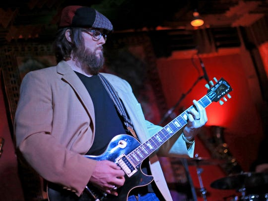 Jared Johnson of Lyonhead performs at Jazzy's Rock