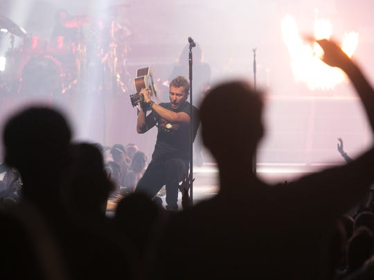 Dierks Bentley performs live as a part of the Sounds