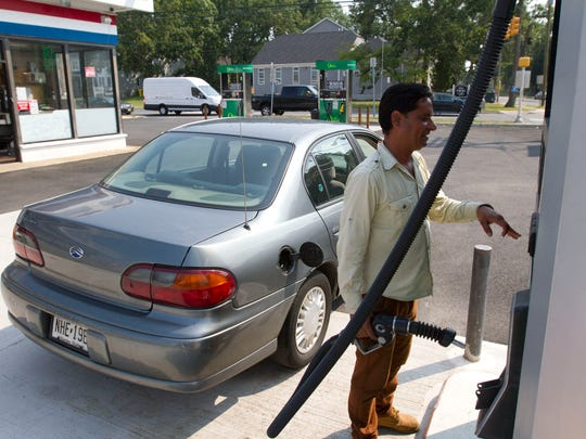 Jessi Singh, a gas attendant at Fuel 4 on County Line