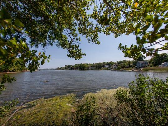 The Navesink River, as seen from Hartshorne Woods Park.