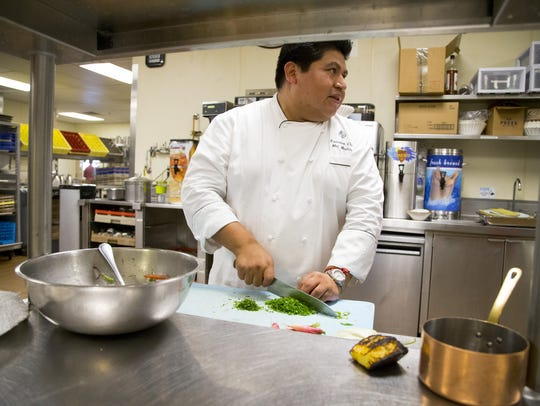 Executive Chef Mel Mecinas of Four Season Resort Scottsdale