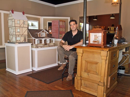 Darren Scala, the owner of D. Thomas Fine Miniatures
