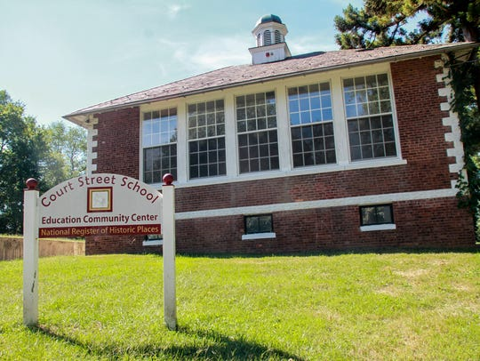 Freehold,  NJ     Court St school in Freehold was
