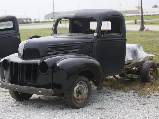 1942 Ford Pickup. Rare car collection of the late Grant J. Quam to be auctioned Sept. 26th in Ames, Iowa, Wednesday, Sept. 16, 2015.