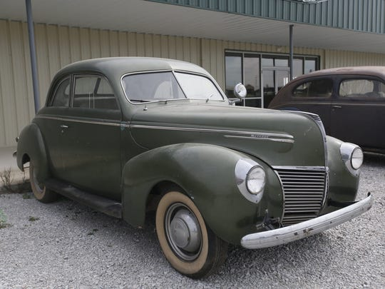 1939 Mercury 2-door Sedan. Rare car collection of the late Grant J. Quam to be auctioned Sept. 26th in Ames, Iowa, Wednesday, Sept. 16, 2015.
