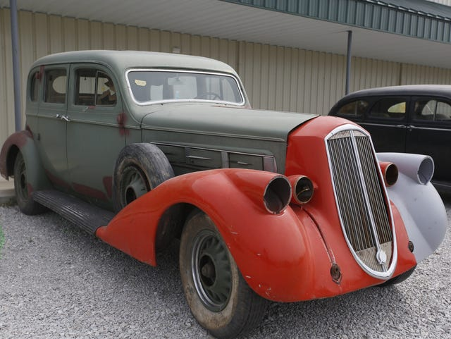 Up for bid: One man's astounding antique car collection