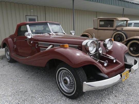 1980 Mercedes Replica Heritage Model. Rare car collection of the late Grant J. Quam to be auctioned Sept. 26th in Ames, Iowa, Wednesday, Sept. 16, 2015.