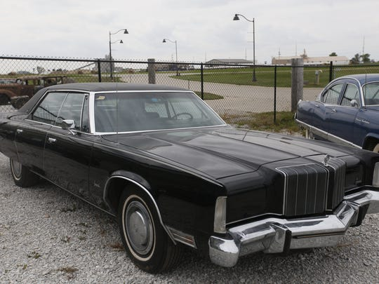 1974 Chrysler Imperial Lebaron 4-door HT. Rare car collection of the late Grant J. Quam to be auctioned Sept. 26th in Ames, Iowa, Wednesday, Sept. 16, 2015.